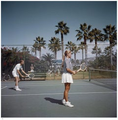 Slim Aarons Estate Edition -  Tennis In San Diego