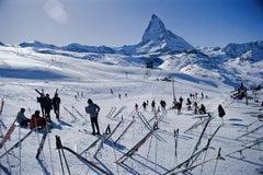 Slim Aarons Estate Edition - Zermatt Skiing