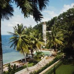 Slim Aarons Estate Print - Bahamian Hotel 1973 - Oversize
