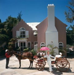 Slim Aarons Estate Print - Carriage Awaits 1977 - Oversize