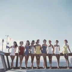 Slim Aarons Estate Print - Lake Tahoe Ladies 1959