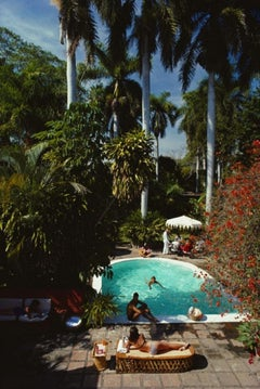 Slim Aarons Estate Print - Mazatlan Mansion 1984 - Oversize