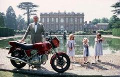 Slim Aarons Estate Print - Motorcycling Lord 1990