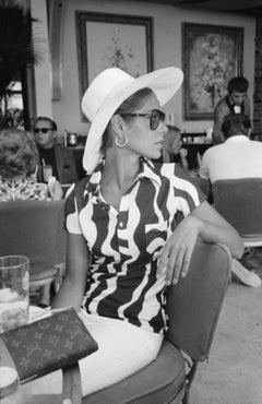 Slim Aarons Estate Print - Palm Bay Club 1965 - Oversize