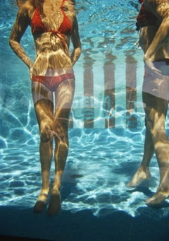 Slim Aarons Estate Print - Pool At Las Brisas 1972