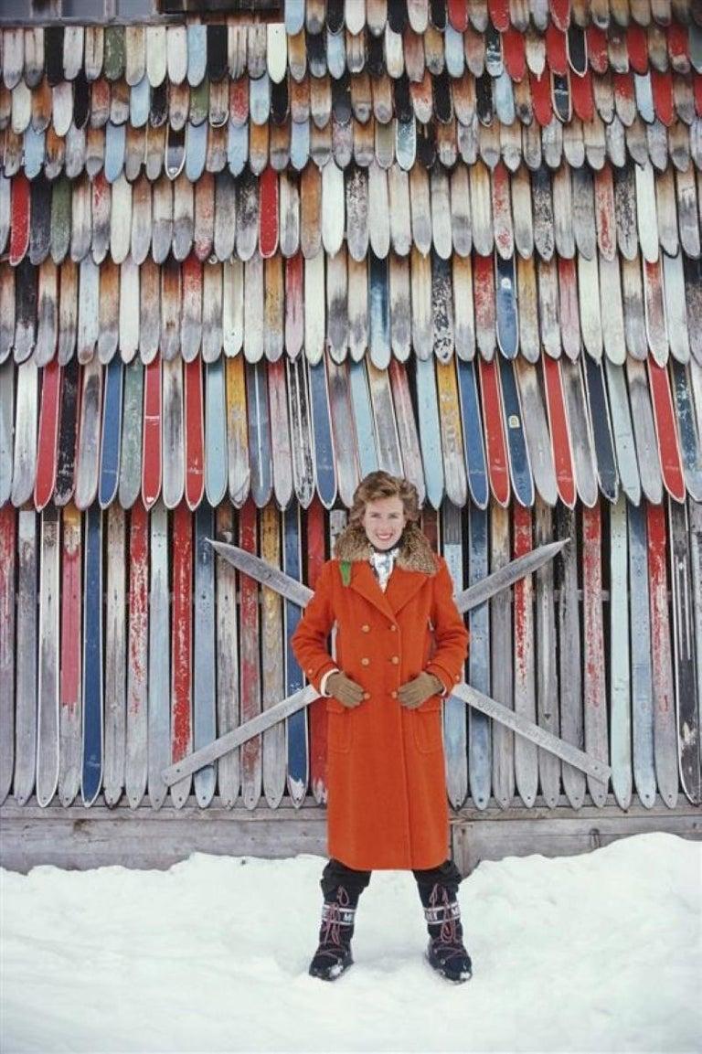 Slim Aarons Estate Print - Princess Ruspoli 1979 - Oversize - Photograph by Slim Aarons