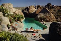 Slim Aarons Estate Print - Sunbathing In Arizona 1967