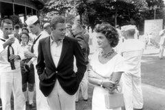Slim Aarons Estate Print -Tennis Guests 1955
