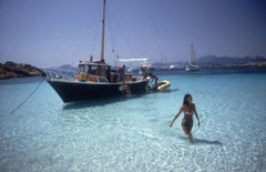 Slim Aarons Estate Print - Yachting Trip 1967 - Oversize