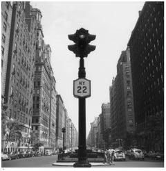 Slim Aarons Estate Stamped Edition - New York Lights 1953