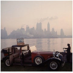 Slim Aarons Estate Stamped - New York Picnic