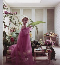 Slim Aarons - Eva Gabor - Estate Stamped