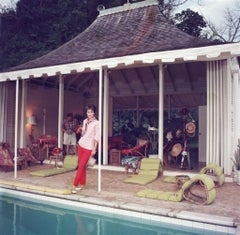 Slim Aarons - Family Snapper - Estate Stamped