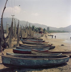 Slim Aarons - Fishing Boats - Estate Stamped