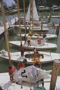 Slim Aarons Freeport Yachts Bahamas (Slim Aarons Estate Edition)