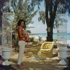 Slim Aarons - Gloria  Schiff - Estate Stamped