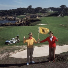 Slim Aarons - Golfing Pals - Estate Stamped