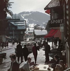 Slim Aarons, Gstaad Town Centre, Switzerland (Slim Aarons Estate Edition)