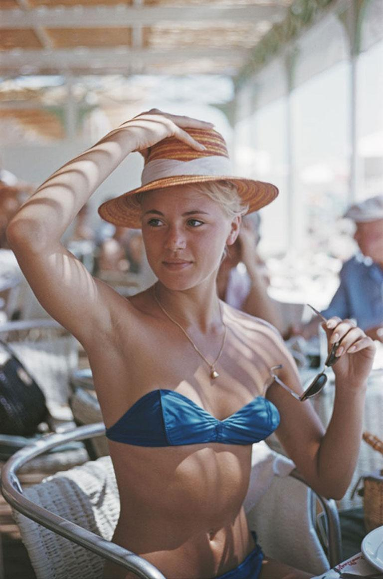 Slim Aarons, Guest at the Carlton, Cannes (Estate Edition)