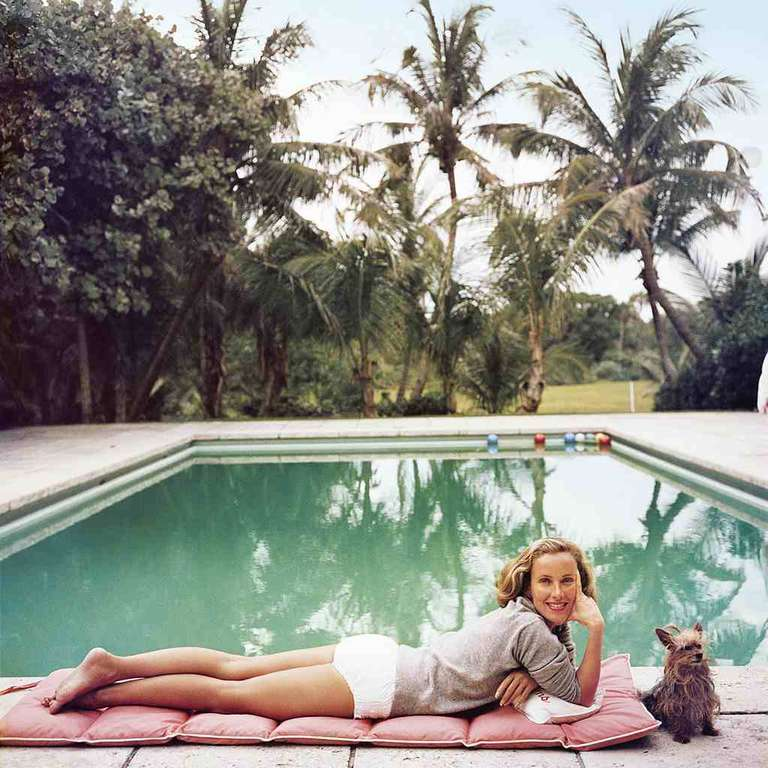 Slim Aarons 'Having a Topping Time' - Photograph by Slim Aarons