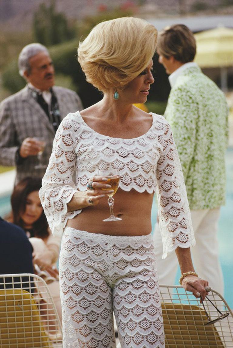 Slim Aarons, Helen Dzo Dzo, Palm Springs (Estate Edition)