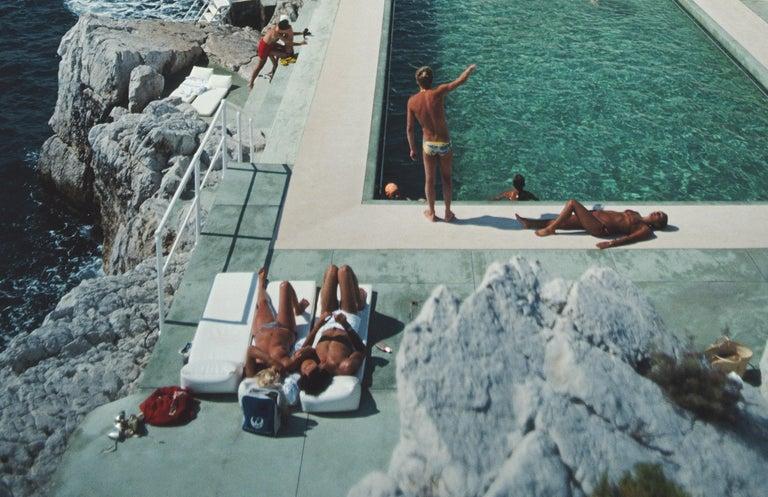 Slim Aarons 'Hotel du Cap Eden-Roc' (Slim Aarons Estate Edition) - Realist Photograph by Slim Aarons