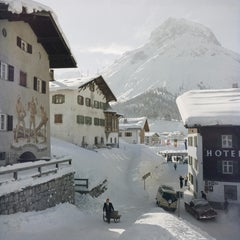 Slim Aarons, Hotel Krone, Lech (Slim Aarons Estate Edition)