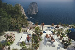 Slim Aarons, Il Canille, Capri (Slim Aarons Estate Edition)