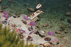 Slim Aarons 'Il Pellicano Beach Porto Ercole' Italy (Slim Aarons Estate Edition)