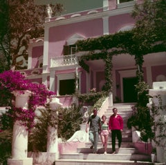 Slim Aarons - In Capri - Estate Stamped