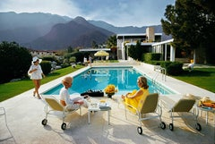 Slim Aarons 'Kaufmann Desert House' (sister image to Poolside Glamour)
