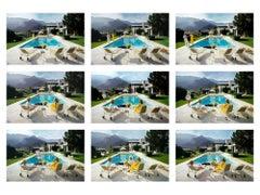 Slim Aarons - Kaufmann House Contact Sheet - Estate Edition