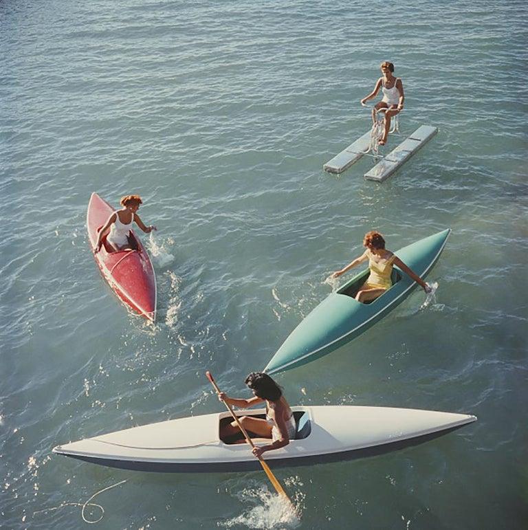 Slim Aarons, 'Lake Tahoe Trip,' Zephyr Cove (Slim Aarons Estate Edition) - Photograph by Slim Aarons