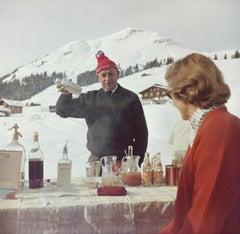 Slim Aarons, Lech Ice Bar (Slim Aarons Estates Edition)