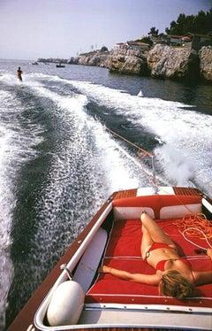 Slim Aarons 'Leisure in Antibes', framed