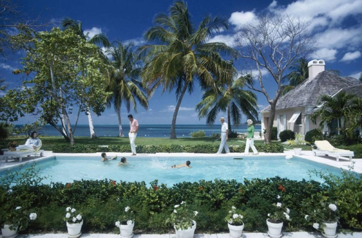 Slim Aarons 'Leonard Dalsemer, Lyford Cay' (Slim Aarons Estate Edition)