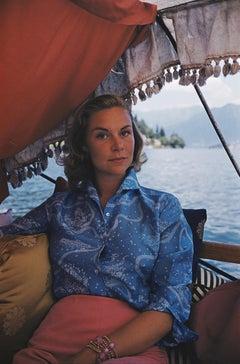 Slim Aarons 'Lili Livi in Lake Como'