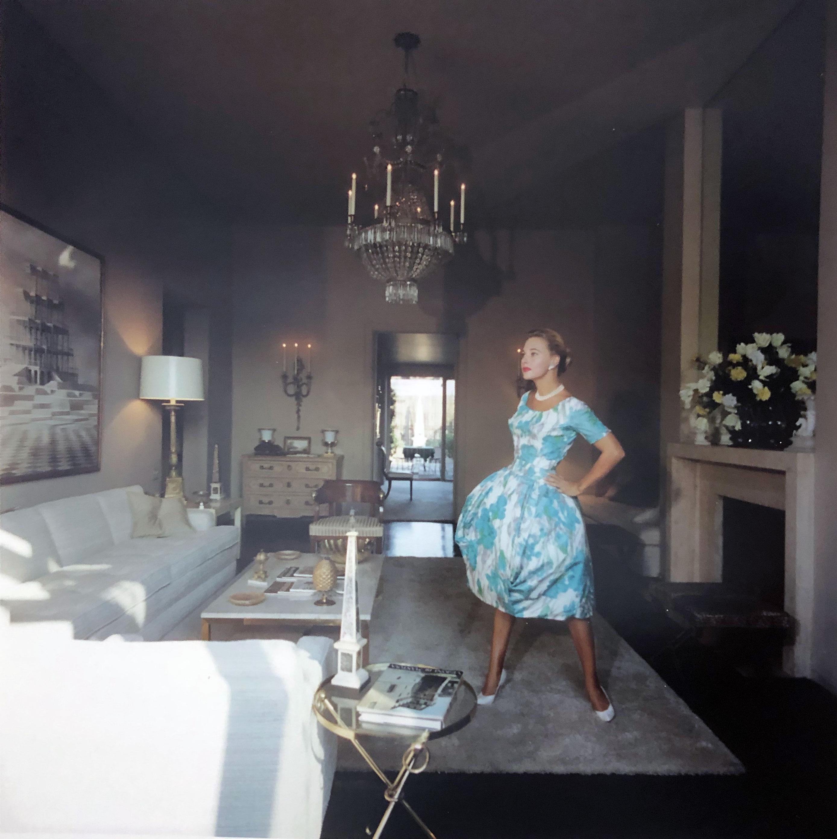 Slim Aarons Lola Albright's Penthouse