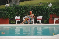 Slim Aarons, Lounging In Bermuda