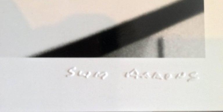 Slim Aarons 'Lounging in Verbier' (Slim Aarons Estate Edition) - Realist Photograph by Slim Aarons