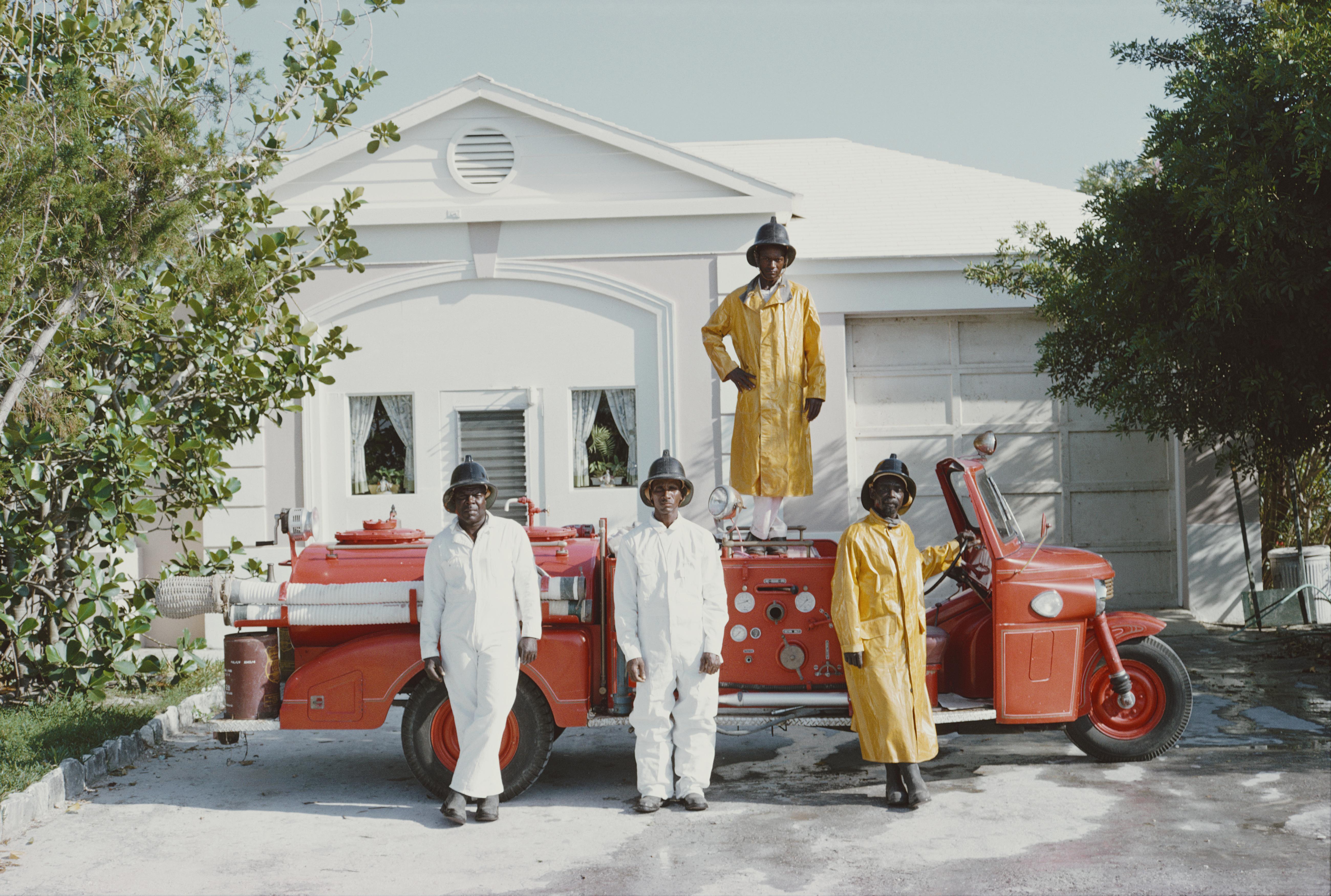 Slim Aarons 'Lyford Cay Fire Department' (Slim Aarons Estate Edition)
