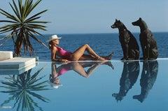 Slim Aarons 'Marbella Pool' (Slim Aarons Estate Edition)