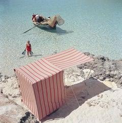 Slim Aarons Marietine Birnie Blue Lagoon, 1959