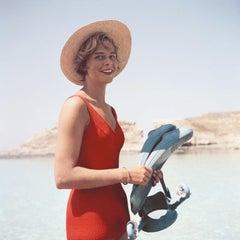 Slim Aarons, Marietine Birnie, Blue Lagoon, Kemmuna (Comino), Malta
