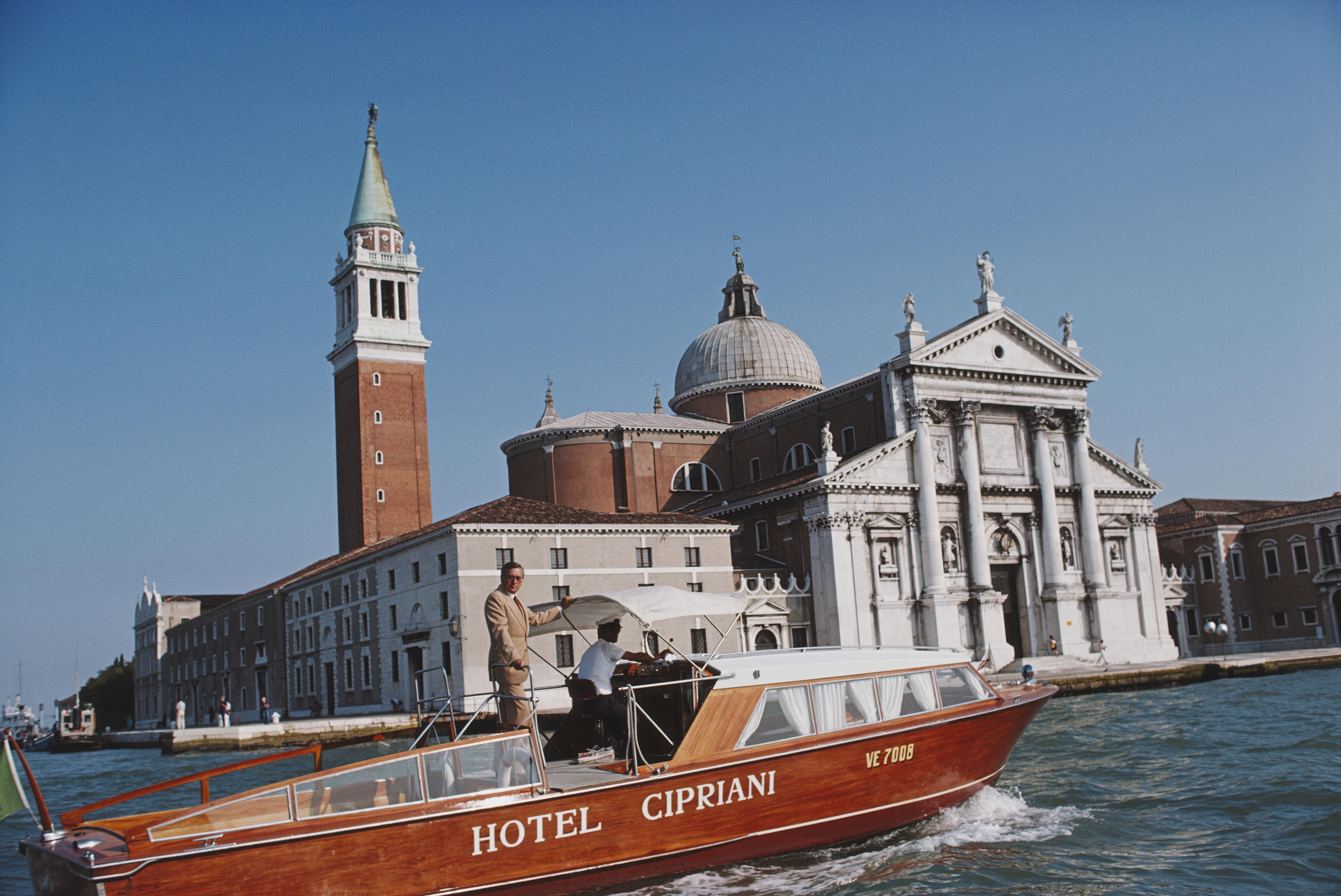 Slim Aarons, Natale Rusconi in Venice