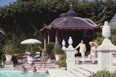 Slim Aarons, Pagoda Poolhouse (Slim Aarons Estate Edition)