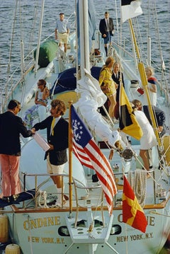 Slim Aarons, Party in Bermuda (Estate Edition)
