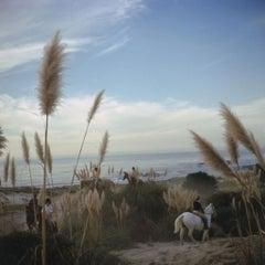 Slim Aarons - Pebble beach - Estate Stamped