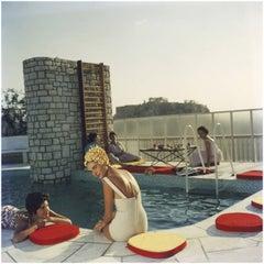 Slim Aarons Penthouse Pool, Acropolis, Slim Aarons Estate Edition
