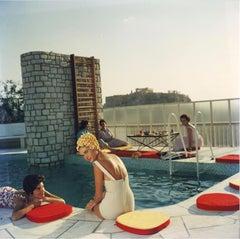Slim Aarons Penthouse Pool, Acropolis (Slim Aarons Estate Edition)